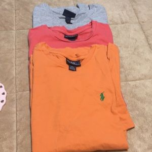 Ralph Lauren T Shirts lot of 3
